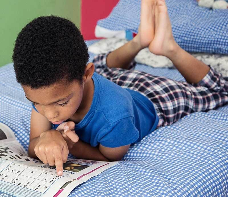 child reading first news (1)