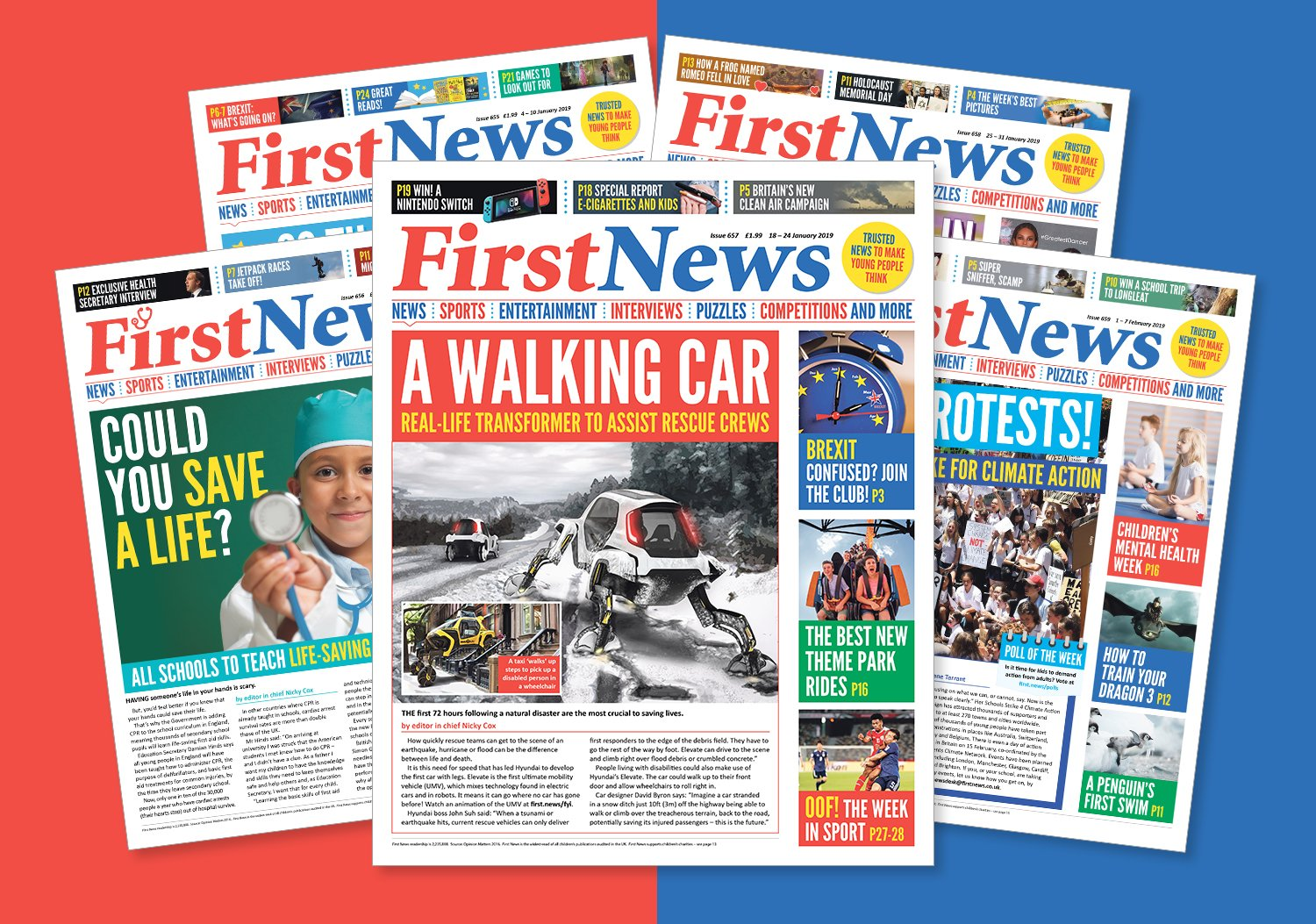 Subscribe to First News Kids Newspaper | First News