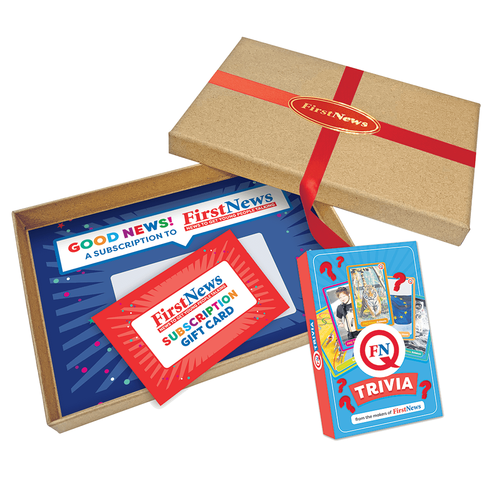 First News Gift Subscription plus FNQ Trivia packshot